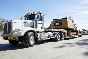Heavy Equipment Rentals -- Lowbed Delivery Truck