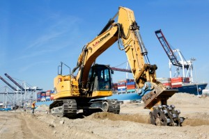Earth Moving Equipment for Port Infrastructure